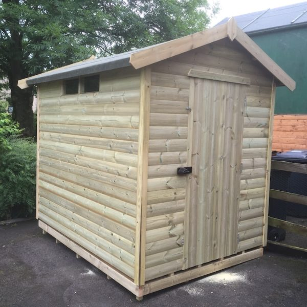 """Apex or Pent Security Shed 2""""x2"""" Frame"""
