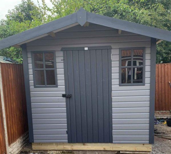 derwent cottage painted
