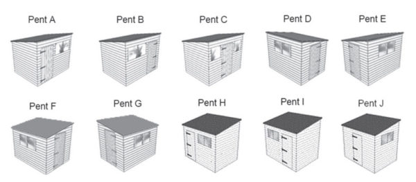 pent styles