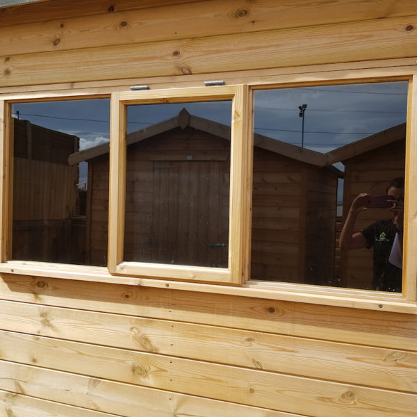 centre opener and 2 fixed windows